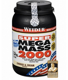 Weider Gainer Super Mega Mass 2000 1500 g