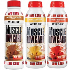 Weider Muscle Low Carb Protein Drink, 500 ml