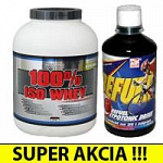 100% ISO WHEY + Refuel (1l)  1+1 SUPER AKCIA !!!
