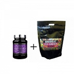 SCITEC NUTRITION BCAA 6400 125 tbl. +  Anabolic Iso Gainer 3000 3170 g