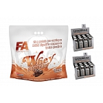 Fitness Authority Whey Protein 4500 g + Levro HiPro 12x120ml