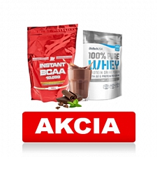 BioTech USA 100% Pure Whey + ATP NUTRITION Instant BCAA 10 000 750 g