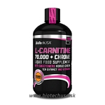 BIOTECH L-Carnitine 70.000 mg + Chrome - 500 ml