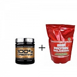 SCITEC NUTRITION 100% Creatine + ATP NUTRITION BEEF PROTEIN ISOLATE 95% +