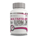 BioTech USA Multivitamin for Women - 60 tabliet