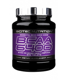 SCITEC NUTRITION BCAA 6400 125 tbl.